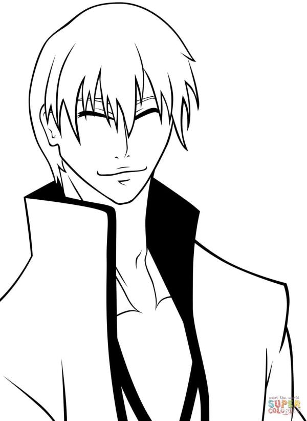 bleach coloring pages # 6