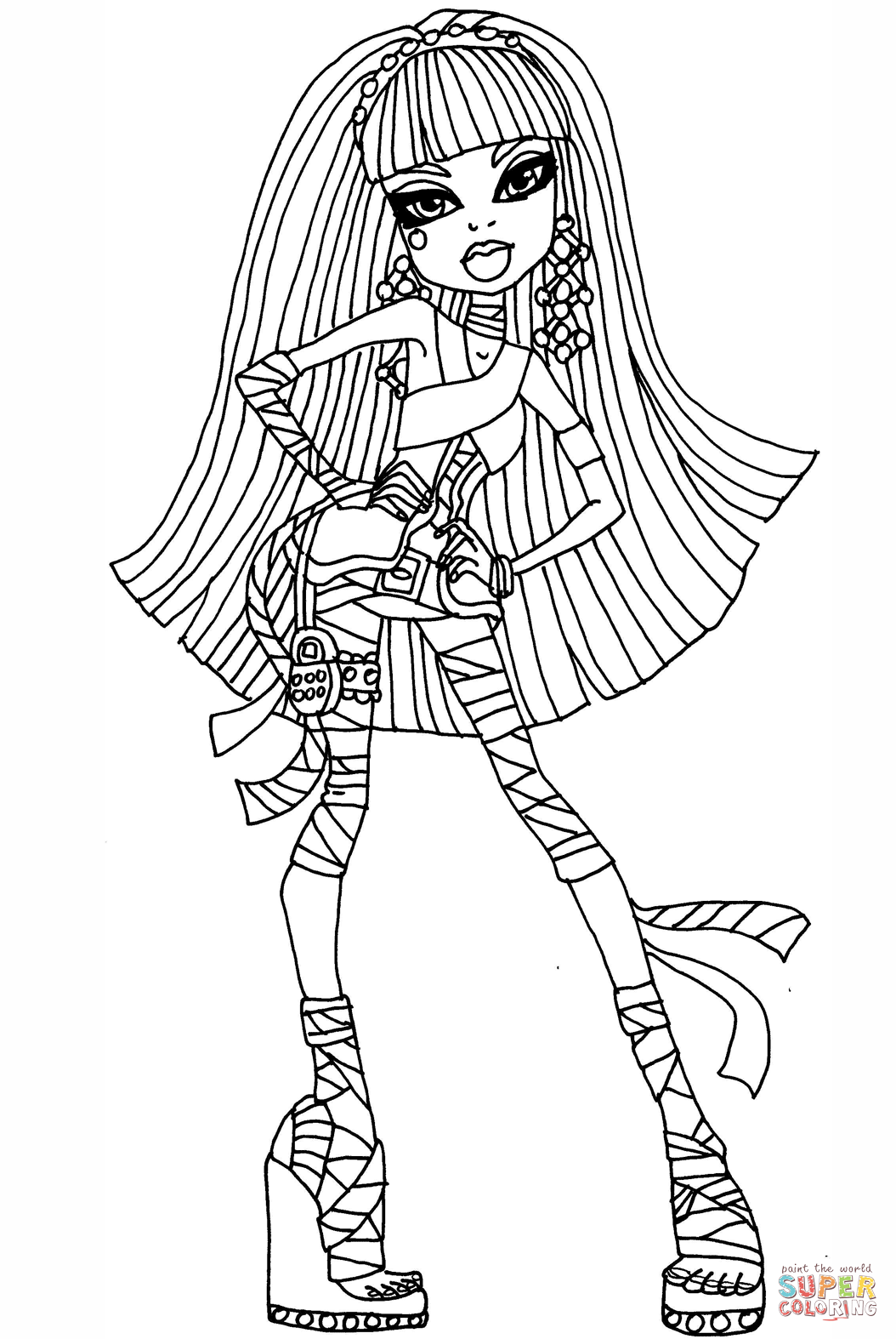 Cleo De Nile Coloring Pages Free Coloring Pages Download | Xsibe ...