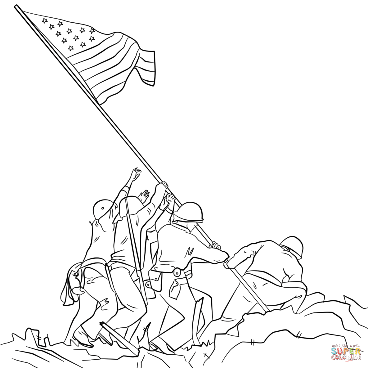 Veterans Day Coloring Pages Free Coloring Pages