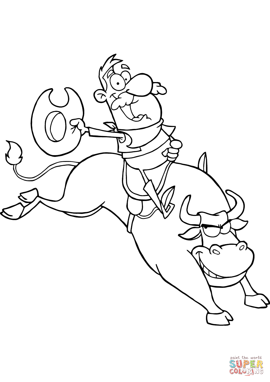rodeo coloring pages free coloring pages download xsibe barrel