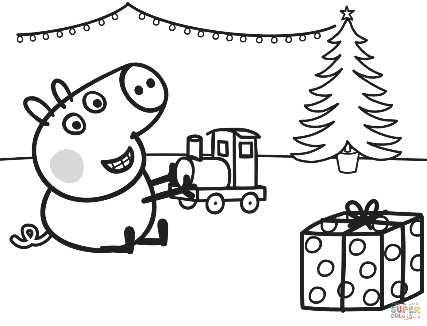 Free Printable Train Coloring Pages For Kids Inside Train Coloring
