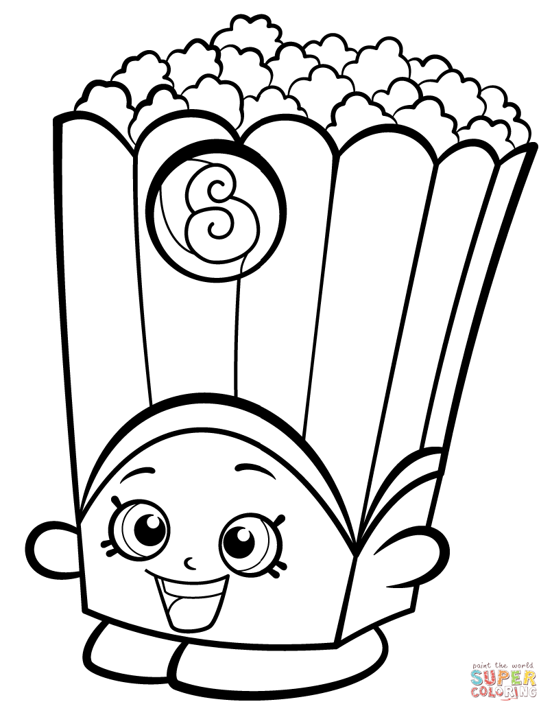 Shopkins Season 2 Coloring Pages Free Coloring Pages