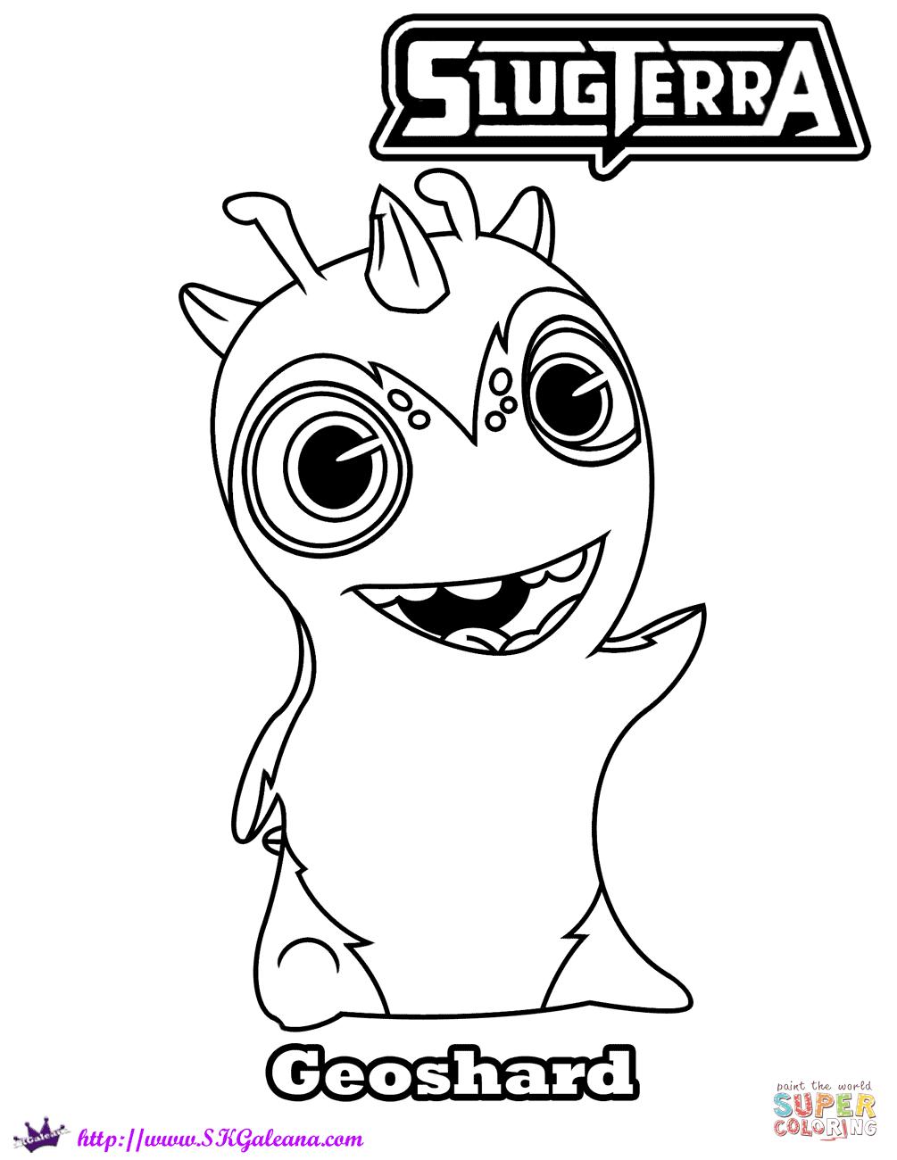 Megamorph Slugterra Ghouls Coloring Pages