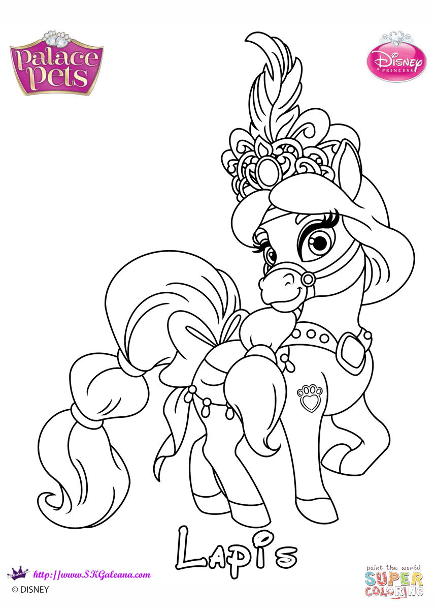 Lapis Princess Coloring Page Free Printable Coloring Pages