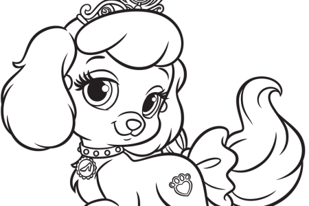 Pets Disney Princess Palace Taj Coloring Page SKGaleana Kids N Fun Com Pages Of