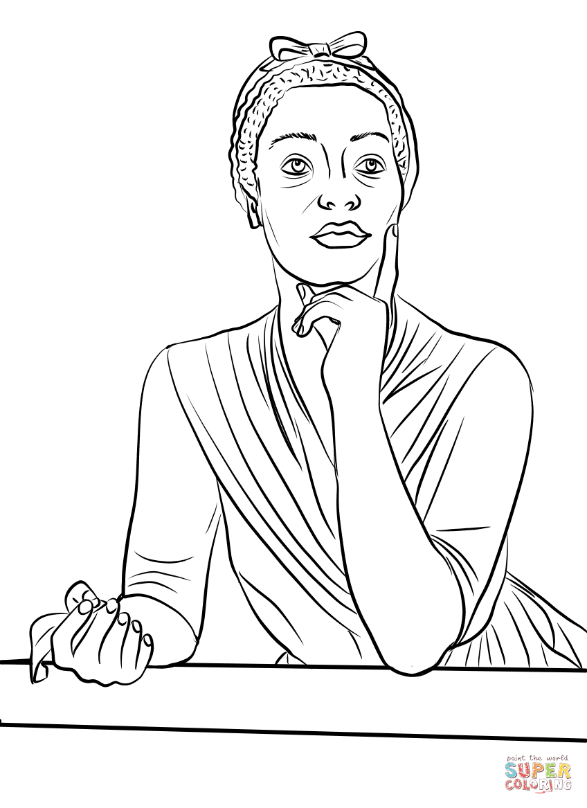 Black History Month Jesse Owens Coloring Pages