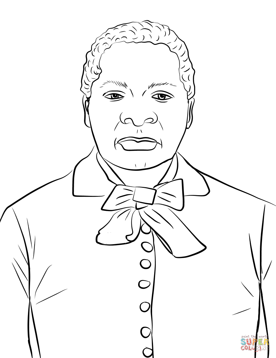 Biddy Mason Coloring Page Free Printable Coloring Pages