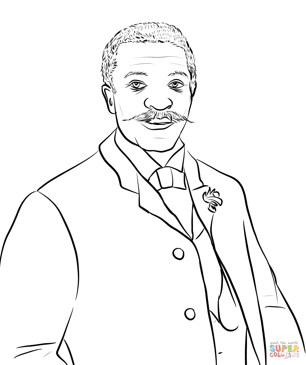 George Crum Coloring Page Free Printable Coloring Pages