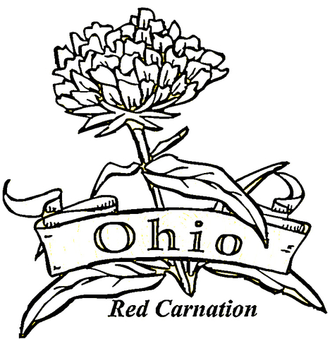 ohio state coloring pages # 16