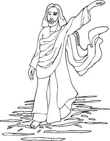 coloring pages jesus # 19
