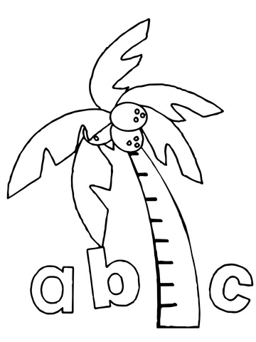 abc coloring page # 20