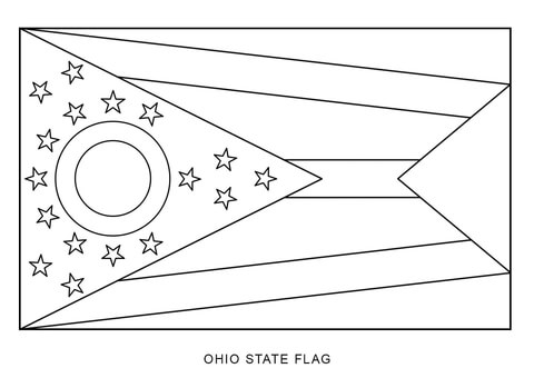 ohio state coloring pages # 6