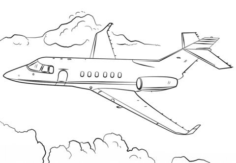List of Coloring Pages Jumbo Jet Pict - Best Pictures