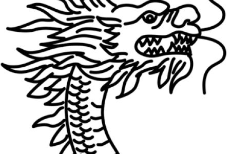 chinese dragon head coloring chinese dragon head coloring page free printable coloring pages chinese dragon head coloring page dragon head coloring