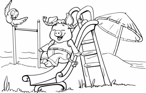playground coloring pages # 6