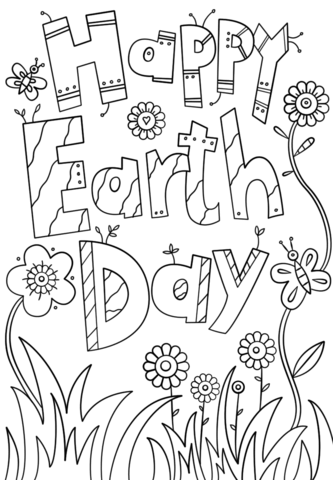 List Of Coloring Pages Earth Day Pict