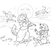 nursery rhyme coloring pages # 16