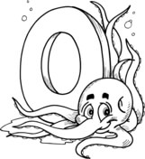 letter o coloring pages # 8