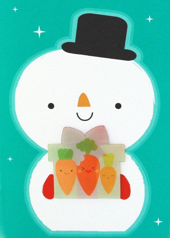 Cute Christmas Cards - Super Cute Kawaii!!