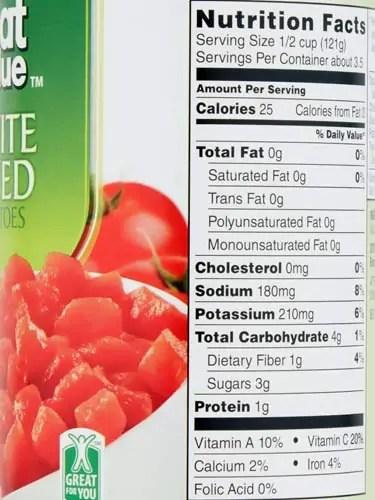Food Canned Fresh Food Vs