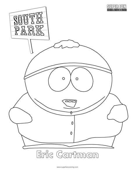 south park coloring pages # 10