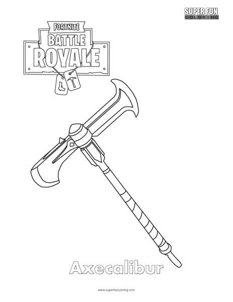Raven Skin Fortnite Coloring Pages