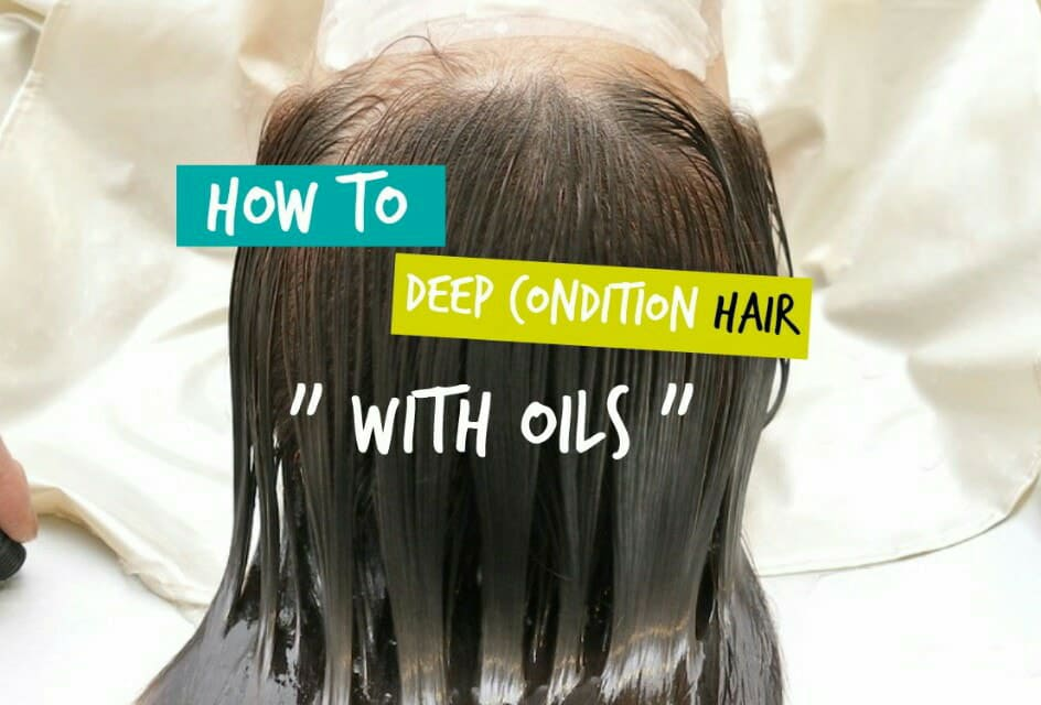 Deep Conditioning Damaged Hair
