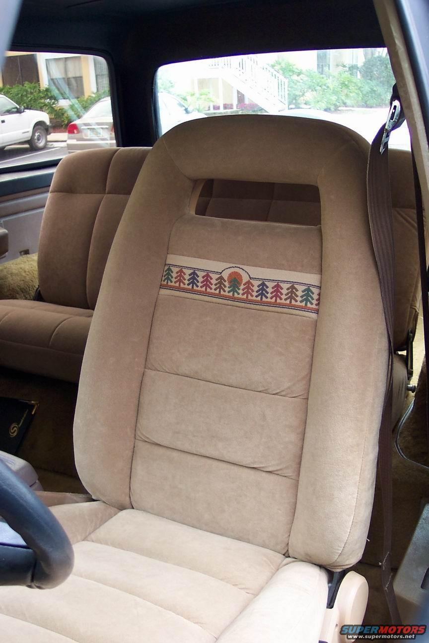 1986 Ford Bronco Interior Almost Done Picture