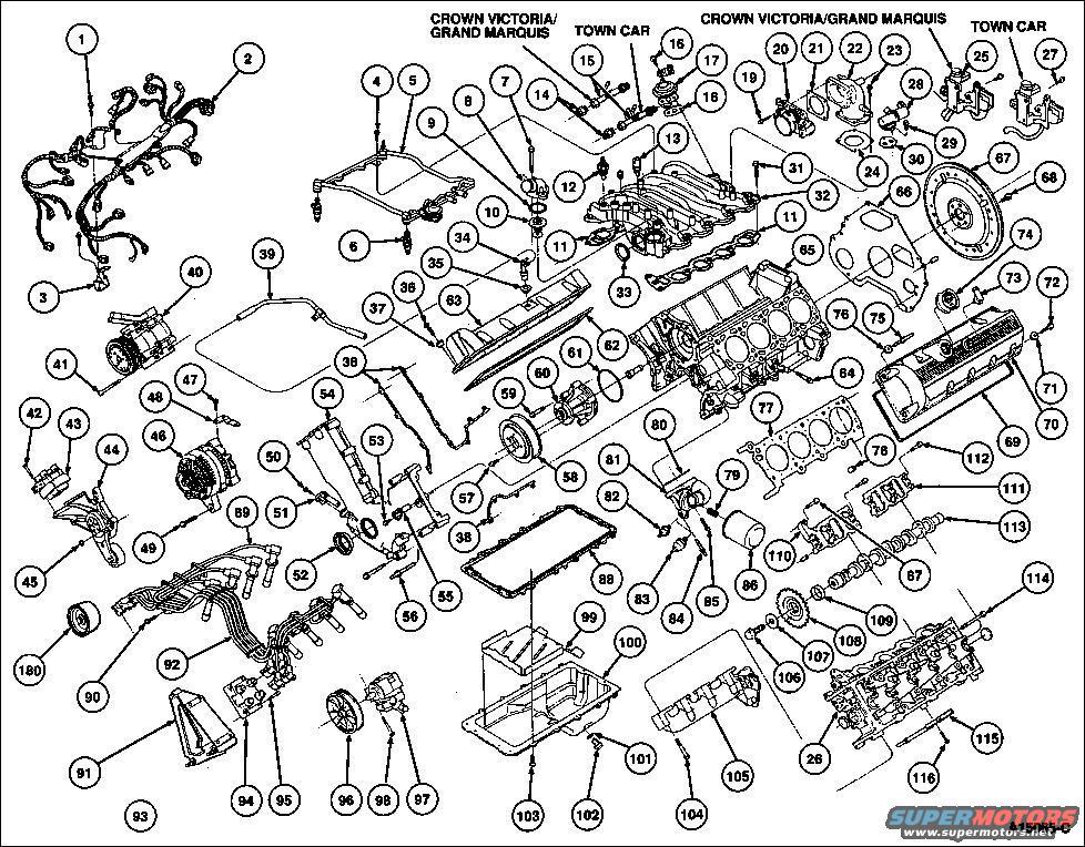 Ford 46l V8 Engine Diagram
