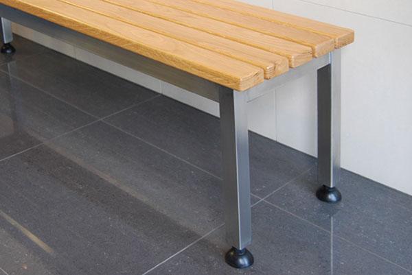 Stainless Steel Free Standing Changeroom And Locker Room
