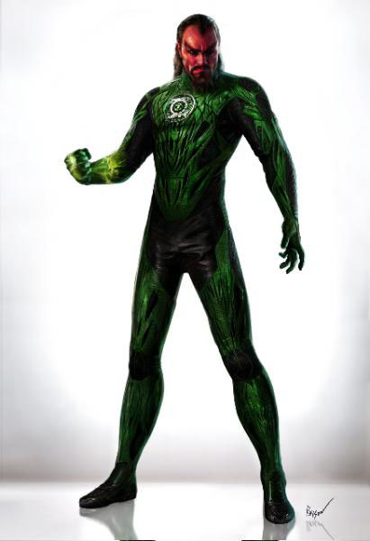 Leaked Concept Art For Green Lantern Movie Some Spoilers
