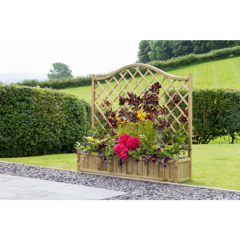 Oxford Trellis Planter