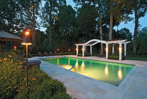 Mclean Amp Great Falls Pergola Porch Amp Pool House Design