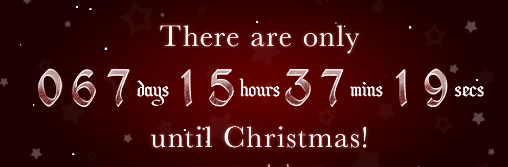 197 days until christmas
