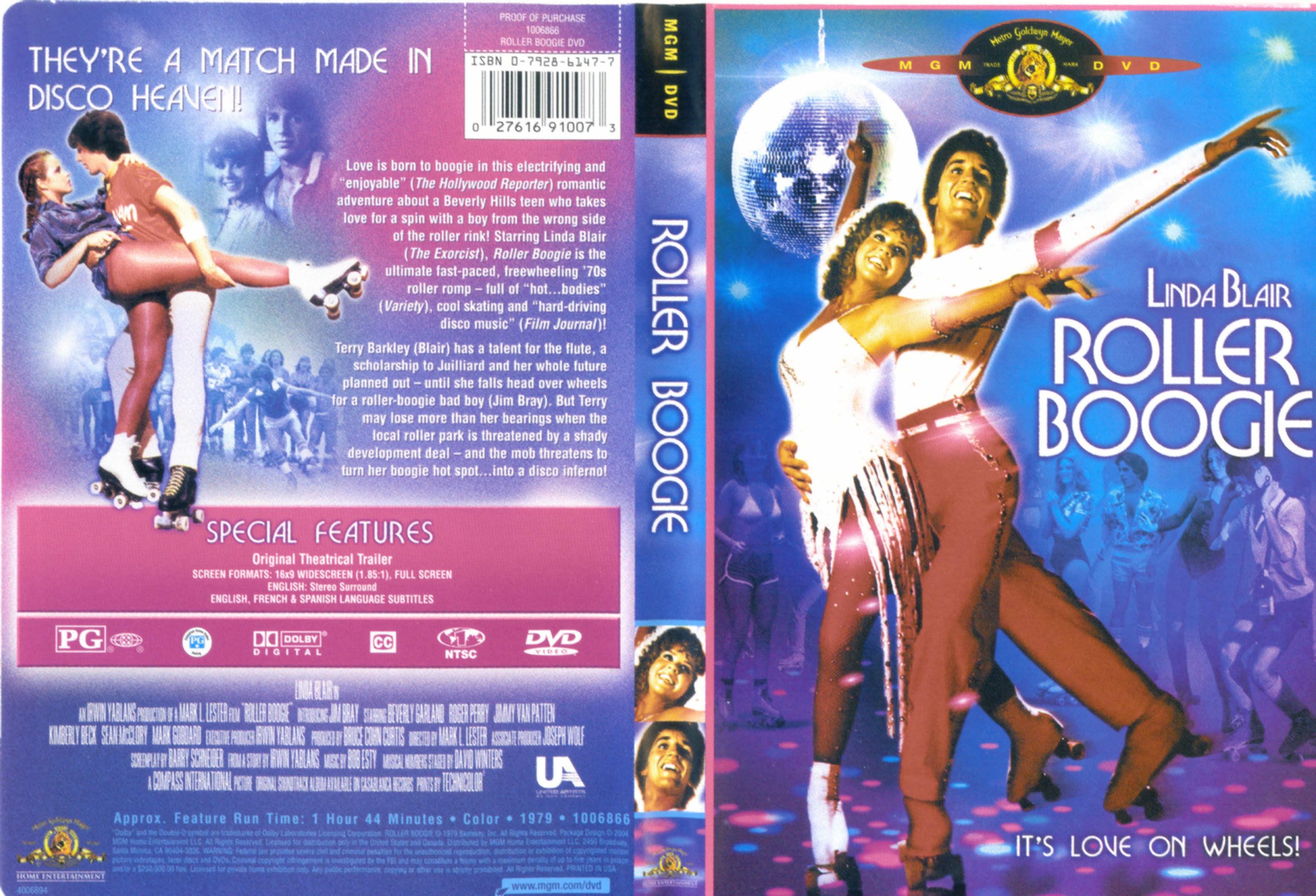 Roller Boogie DVD