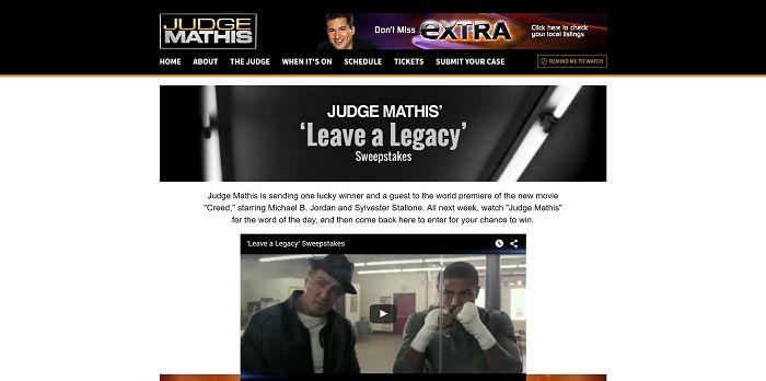 Judge Mathis Show Online