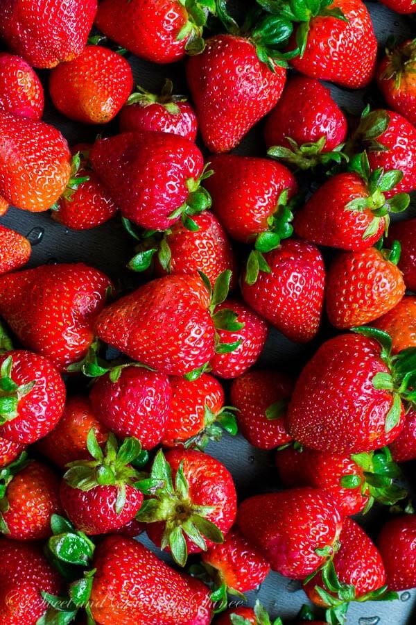 Easy Strawberry Jam No Pectin Sweet Amp Savory By Shinee