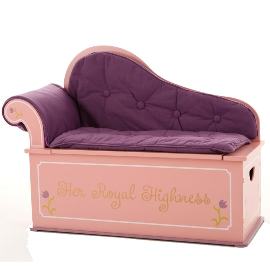 Princess Fainting Couch w  Storage     Princess Fainting Couch w  Storage Thumbnail 1
