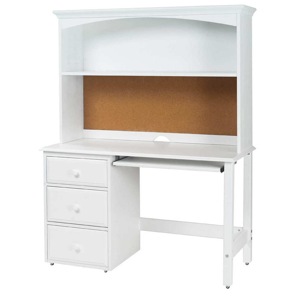 Student Desk with Hutch by Maxtrix Kids  shown in white