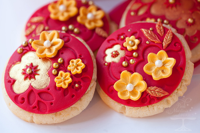Chinese New Year Lunar New Year Decorated Almond Cookies Chinese New Year Cookies 8651 2 700