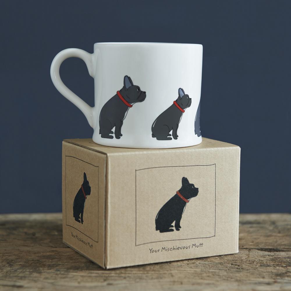 French Bulldog Mug 163 15 95 Mischievous Mutts Mugs Sweet