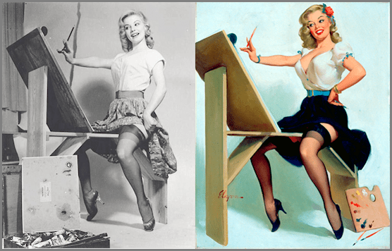 Gil Elvgren's Real Woman In a Pin Up Girl Reality | I Want ...