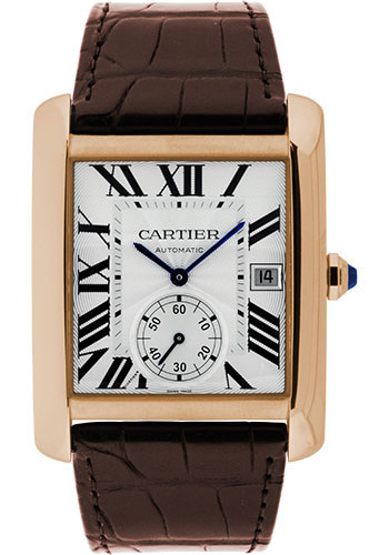 Cartier W5330001 Tank MC Pink Gold Watch From SwissLuxury Cartier Style No  W5330001  Cartier Tank MC Watch