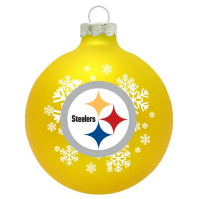 Pittsburgh Steelers Snowflake Christmas Ornament - SWIT Sports