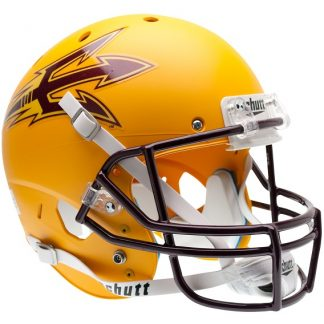 Arizona State Sun Devils Alternate Gold Schutt Full Size XP Replica Helmet
