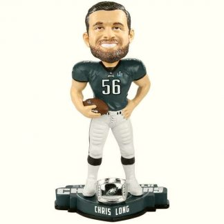 Philadelphia Eagles Chris Long Super Bowl LII Champions Player Bobblehead
