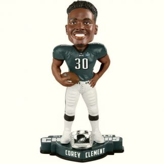 Philadelphia Eagles Corey Clement Super Bowl LII Champions Player Bobblehead