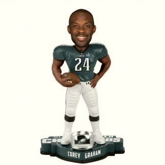 Philadelphia Eagles Corey Graham Super Bowl LII Champions Player Bobblehead