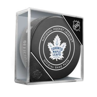 toronto-maple-leafs-official-game-puck