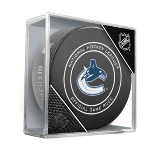 vancouver-canucks-official-game-puck